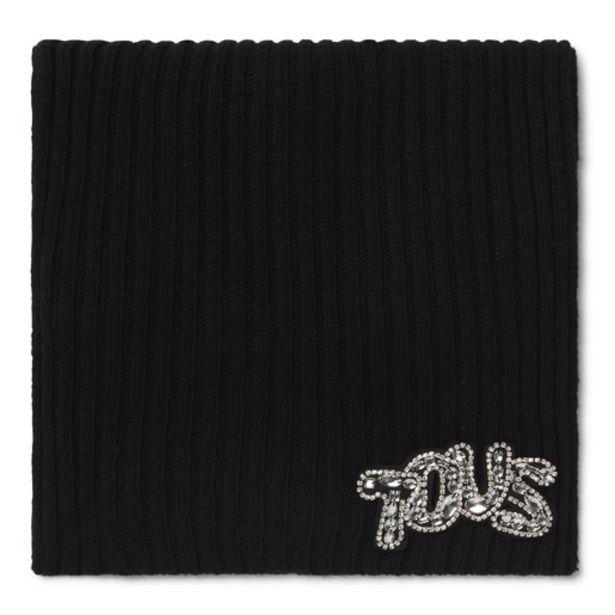 Oferta de Bufanda TOUS Cuarzo negra por 24€