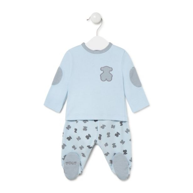 Oferta de Conjunto de recién nacido Fragment  Azul Celeste por 49€