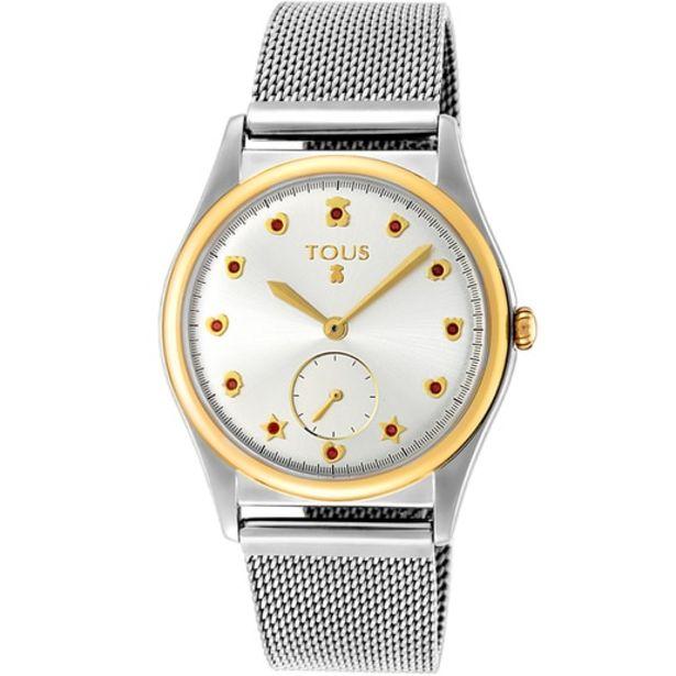 Oferta de Reloj Free bicolor acero/IP dorado por 119€