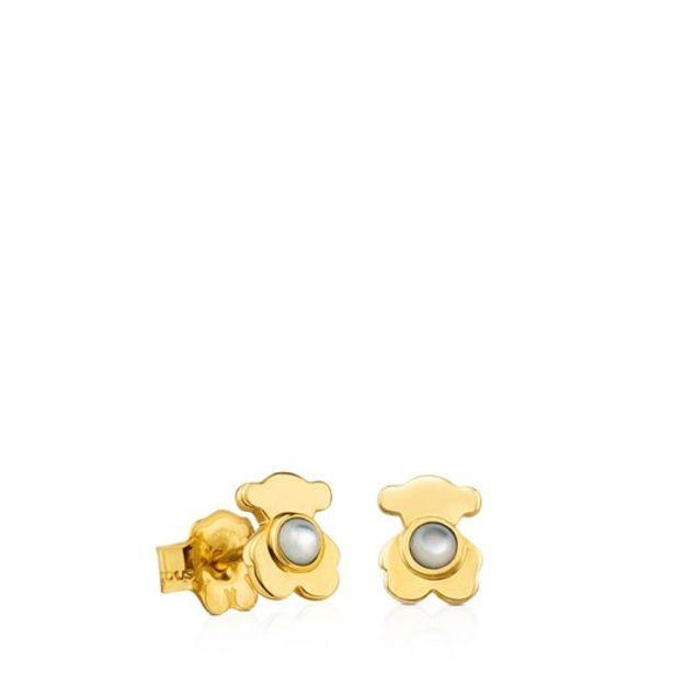 Oferta de Pendientes Gem Power de Oro con Nácar por 149€