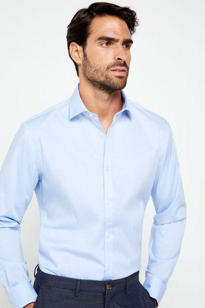 Oferta de Camisa popelín stretch por 19,99€