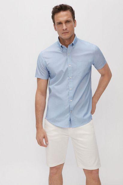 Oferta de Camisa lisa manga corta Coolmax Eco-Made por 11,99€