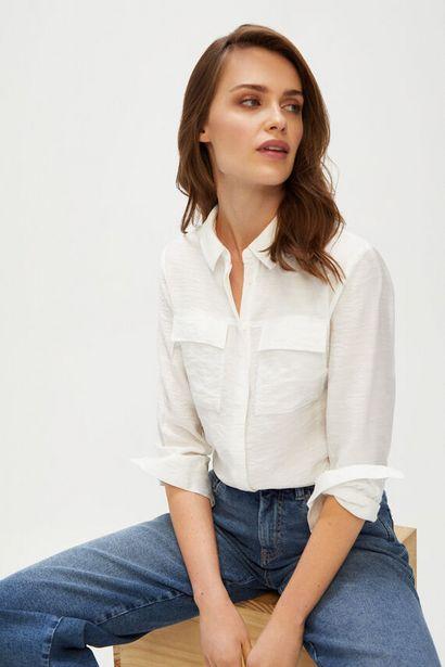 Oferta de Camisa cuello solapa por 9,99€