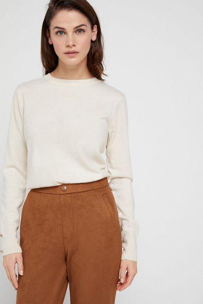 Oferta de Pantalón de antelina. por 19,99€