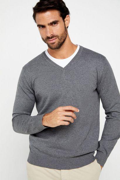 Oferta de Jersey cuello pico por 19,99€