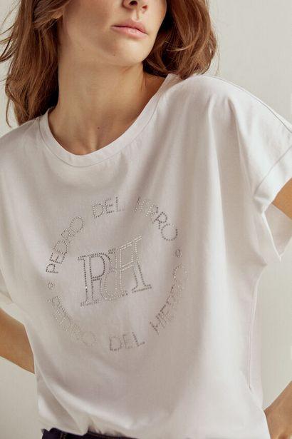 Oferta de Camiseta logo strass por 19€