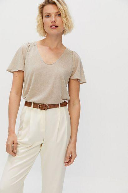 Oferta de Camiseta lurex volante por 7,99€