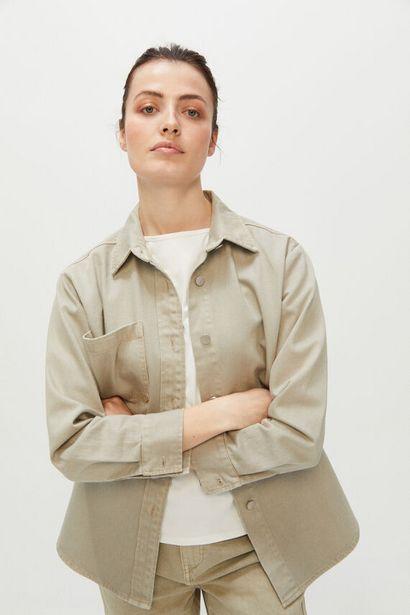 Oferta de Sobrecamisa sarga color por 9,99€