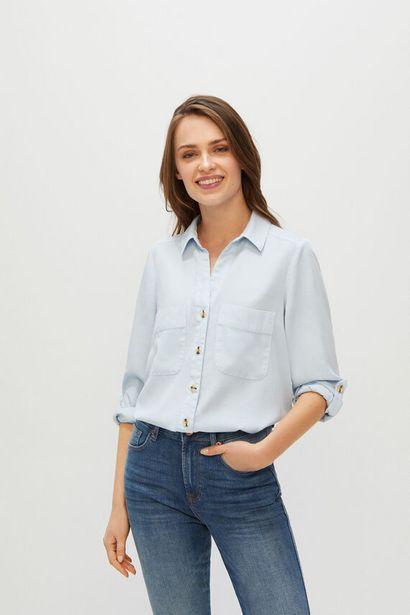 Oferta de Camisa cargo 100% lyocell por 9,99€