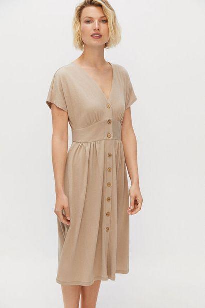 Oferta de Vestido fajín punto por 19,99€