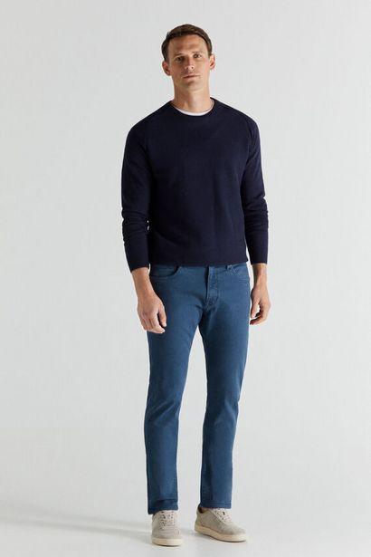 Oferta de Pantalón 5 bolsillos color slim COOLMAX® ECOMADE ALL SEASON por 49,99€