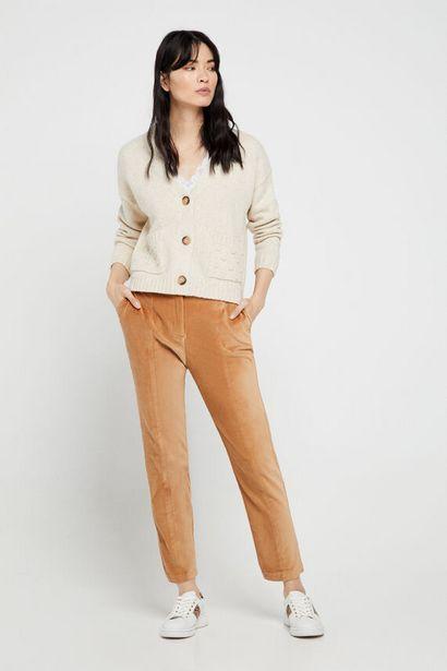 Oferta de Pantalón de velvetón. por 24,99€