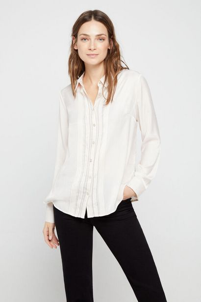 Oferta de Camisa pliegues por 14,99€