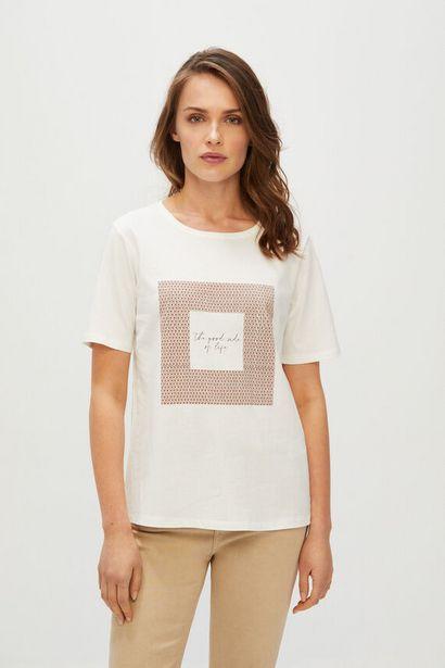 Oferta de Camiseta estampada por 5,99€