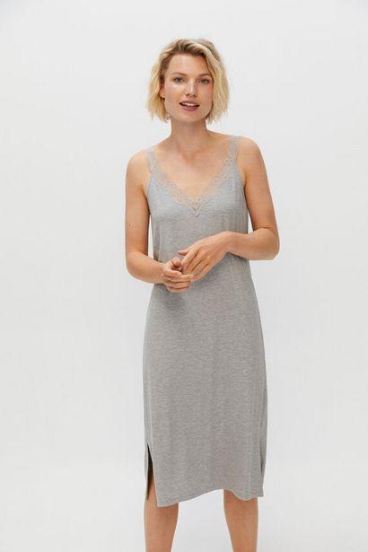 Oferta de Vestido lencero encaje por 14,99€