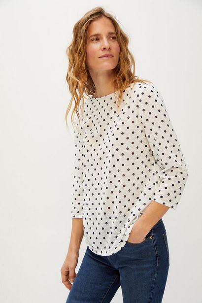 Oferta de Camiseta botón grabado por 5,99€