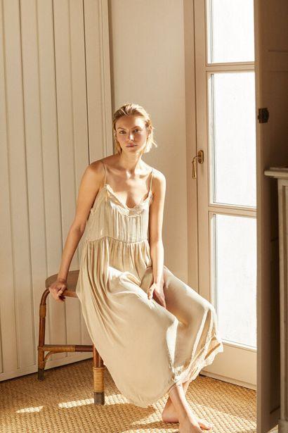Oferta de Vestido lencero satinado por 19,99€
