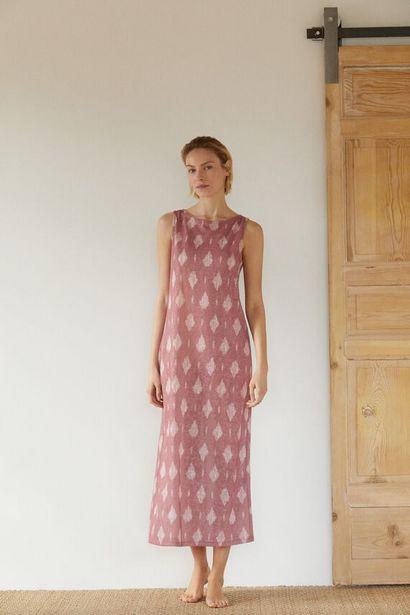 Oferta de Vestido punto detalle nudo por 29,99€