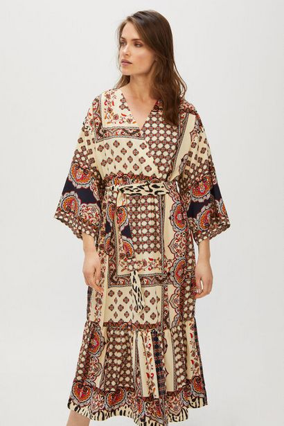 Oferta de Vestido largo fluído por 19,99€