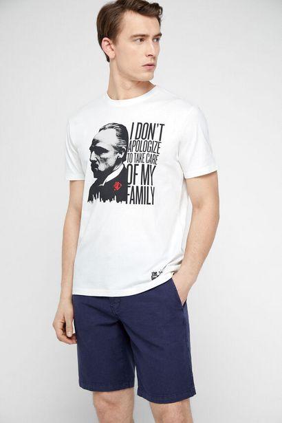 Oferta de Camiseta El Padrino manga corta por 9,99€