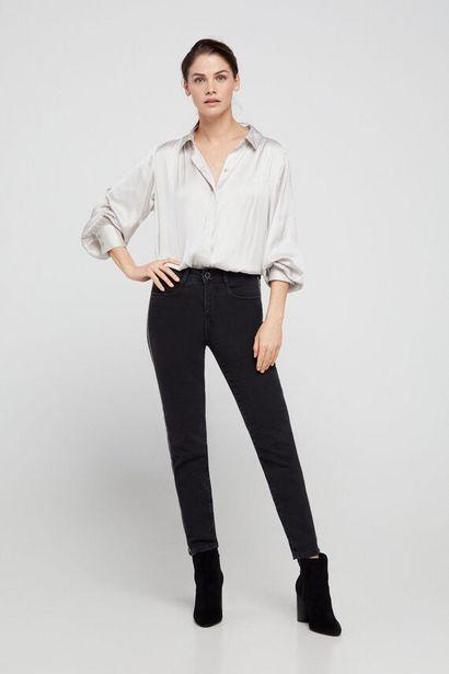 Oferta de Pantalón pitillo cinta joya lateral por 17,99€