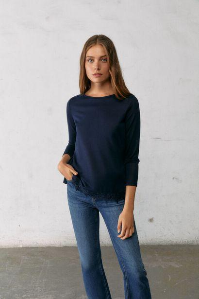 Oferta de Camiseta bajo crochet por 12,99€