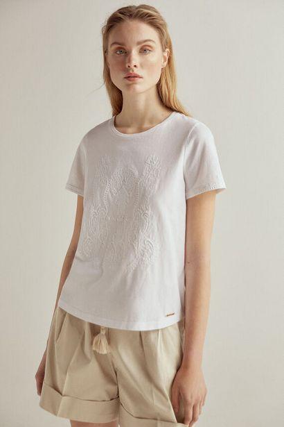 Oferta de Camiseta manga corta bordada por 19€