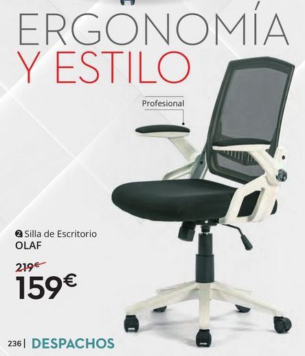 Oferta de Silla de oficina giratoria por 149€