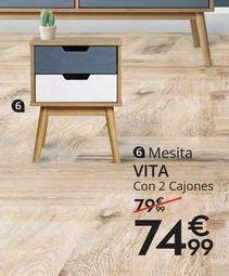 Oferta de Mesita de noche por 74,99€