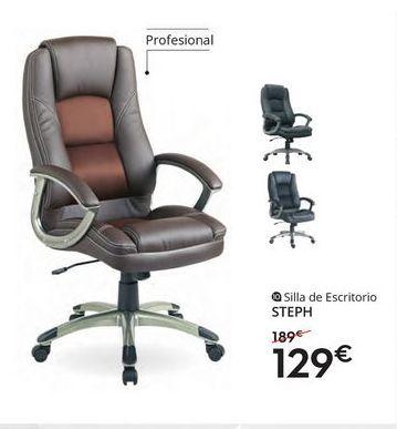 Oferta de Silla de oficina giratoria por 129€