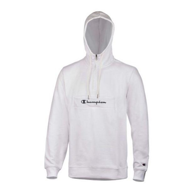 Oferta de Hooded half zip sweatshirt por 45,5€