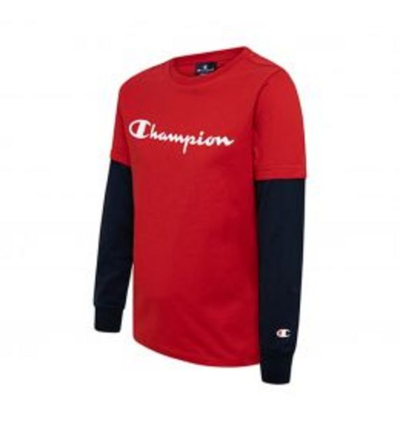 Oferta de Champion Long Sleeve T-Shirt por 15,99€