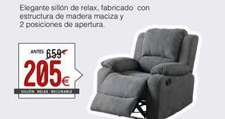 Oferta de Sillón relax por 205€