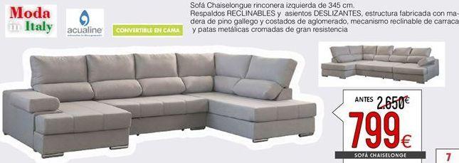 Oferta de Chaise longue por 799€
