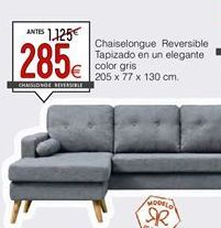 Oferta de Chaise longue por 285€
