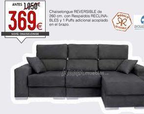 Oferta de Chaise longue por 369€