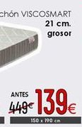 Oferta de Colchones por 139€