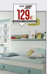 Oferta de Cama doble por 129€