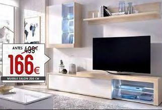 Oferta de Muebles de salón por 166€
