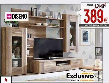 Oferta de Muebles de salón por 389€