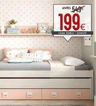 Oferta de Cama doble por 199€