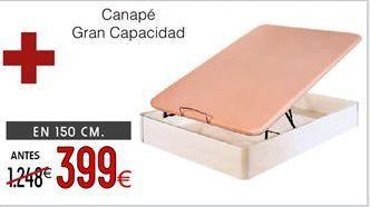 Oferta de Canapé abatible por 399€