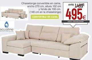 Oferta de Chaise longue por 495€