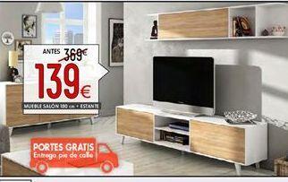 Oferta de Mueble tv por 139€