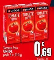 Oferta de Tomate frito UNIDE por 0,69€