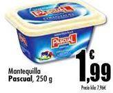 Oferta de Mantequilla Pascual por 1,99€