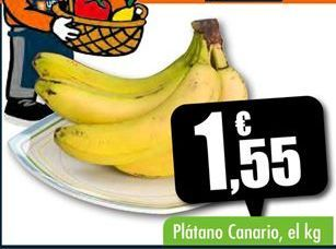 Oferta de Plátano Canario por 1,55€