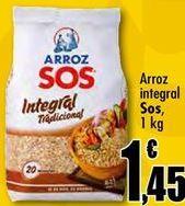 Oferta de Arroz integral Sos por 1,45€