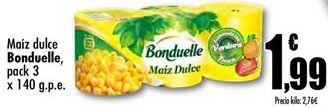 Oferta de Maíz dulce Bonduelle  por 1,99€