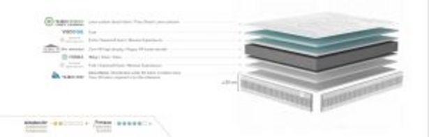 Oferta de Colchón PLANET (HR alta densidad + visco gel) por 205€